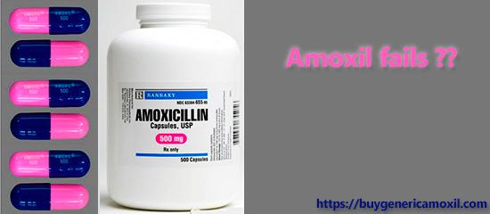 Amoxil fails to avoid
