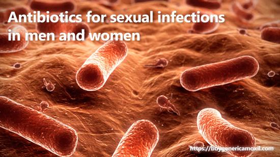 Antibiotics for sexual infections