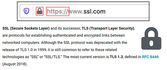 SSL our policies